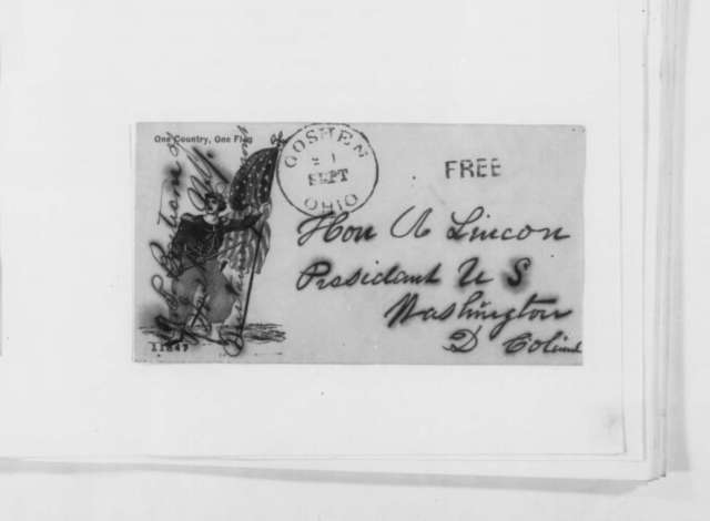 J. C. Boutecon to Abraham Lincoln, Friday, September 20, 1861  (Supports Fremont)