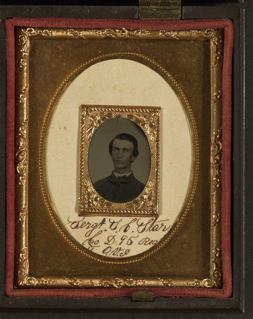 [James A. Caruthers of Company G and Sergeant Samuel Craig Starr of Company D, 95th Ohio Infantry Regiment]