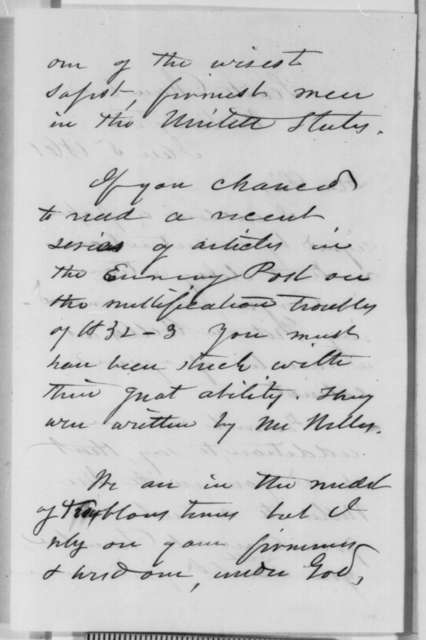 James Dixon to Abraham Lincoln, Saturday, January 05, 1861  (Forwards recommendation)