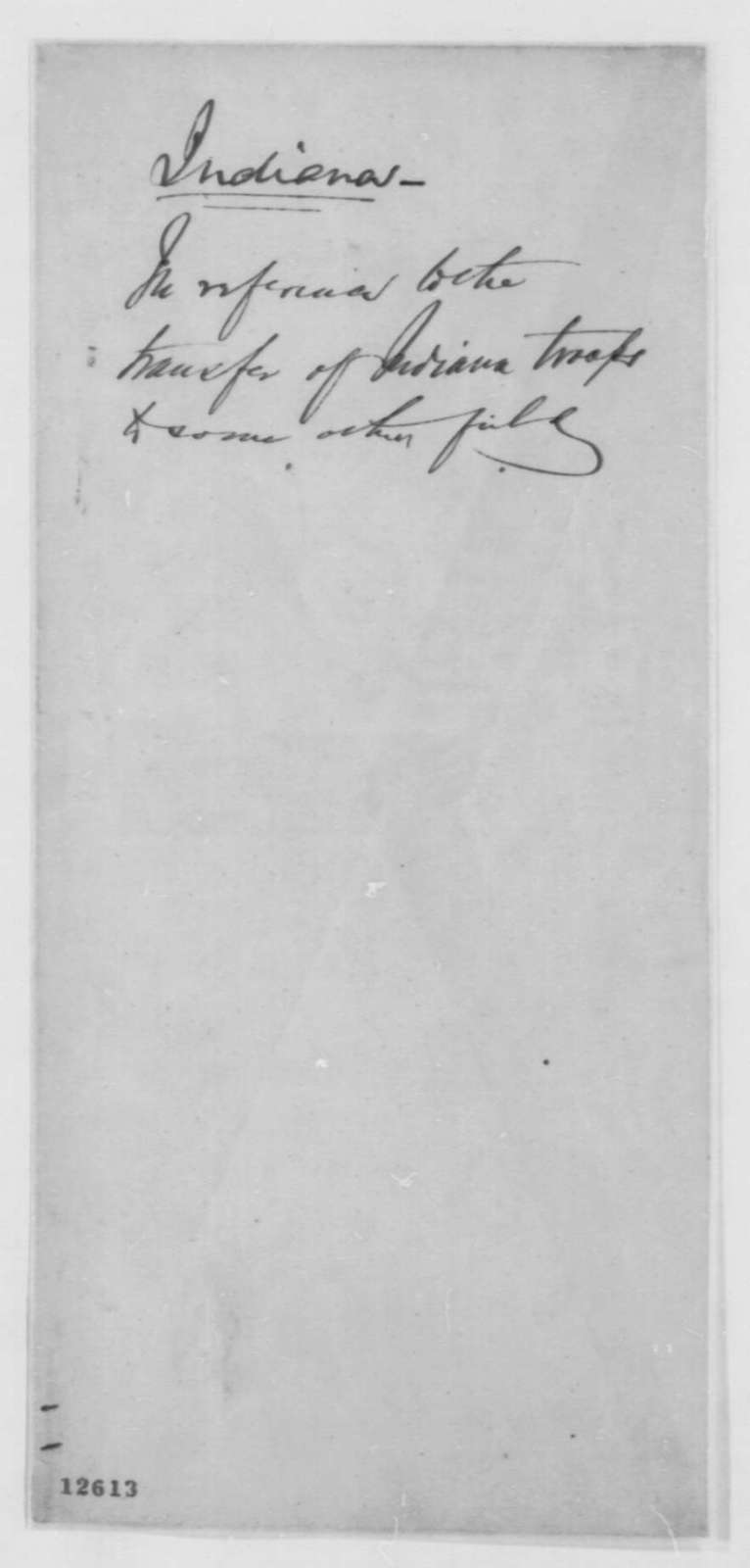 James Gavin and George W. New to Oliver P. Morton, Tuesday, October 22, 1861  (Military affairs)