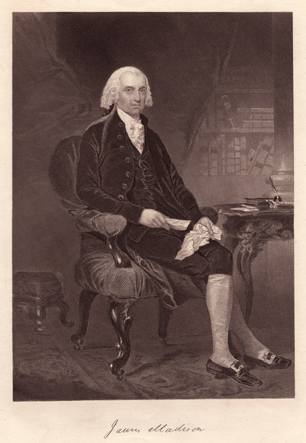 James Madison : from the original picture by Chappel in the possession of the publishers