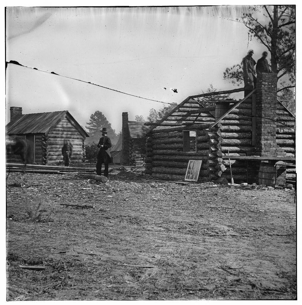 James River, Virginia. Gen. Robert S. Foster's headquarters at Ft. Brady