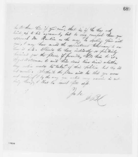 John B. Lumon to Lockwood M. Todd, Monday, June 10, 1861  (Todd's troubles with Rankin)