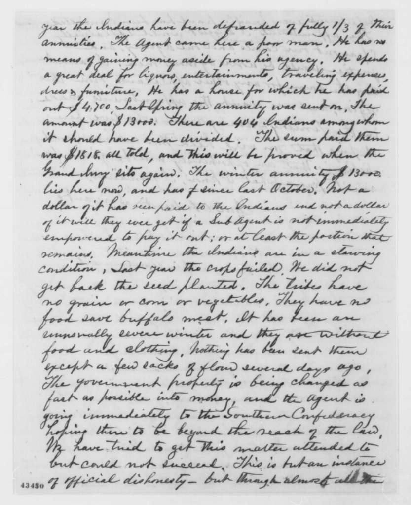 John Lorton to Abraham Lincoln, Thursday, February 14, 1861  (Black Hawk War acquaintance informs Lincoln of situation in Nebraska Territory)