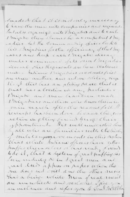 John S. Carlile to Abraham Lincoln, Sunday, October 27, 1861  (Situation in western Virginia)