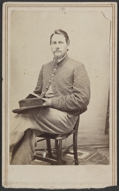 L. R. Fenton, 2nd Michigan Cavalry / From Geer's Art Gallery, Jackson, Mich.