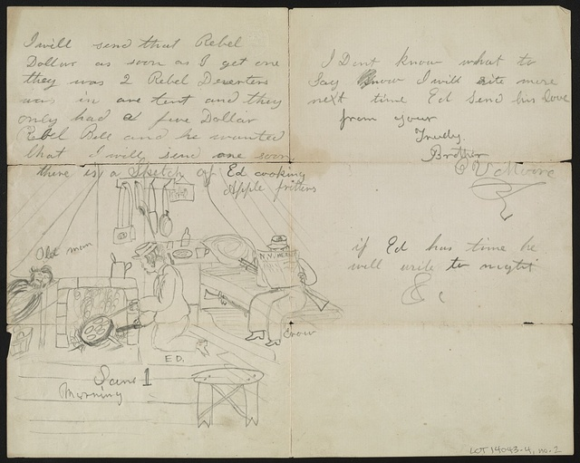 [Letter from Cornelius V. Moore to Henry Moore]