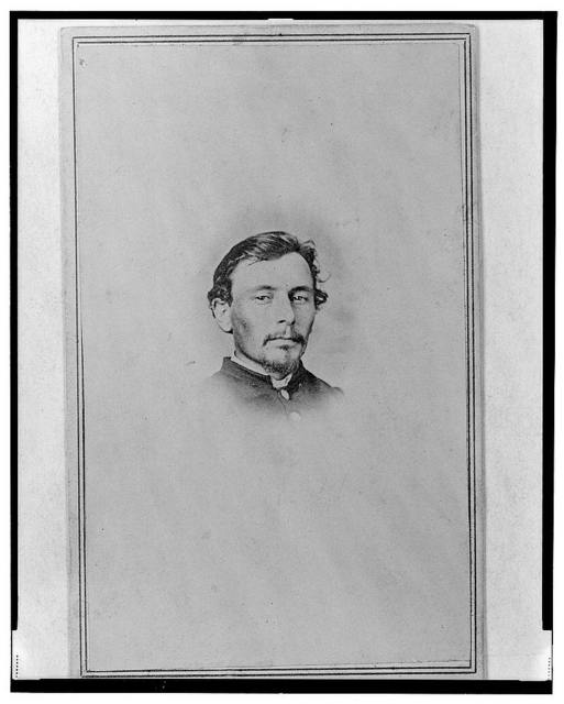 [Lieutenant Colonel Jacob Glass, Union officer in the 32nd Indiana Regiment, bust portrait, facing front] / Chandler & Anderson, Madison, Indiana.