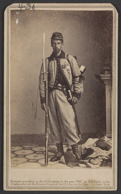 [Lieutenant Francis Brownell of Co. A, 11th New York Infantry Regiment] / From photographic negative in Brady's National Portrait Gallery.