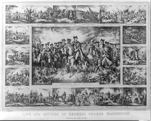 Life and battles of General George Washington