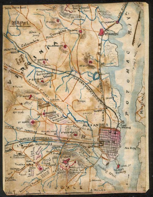 [Map of Alexandria, Virginia]