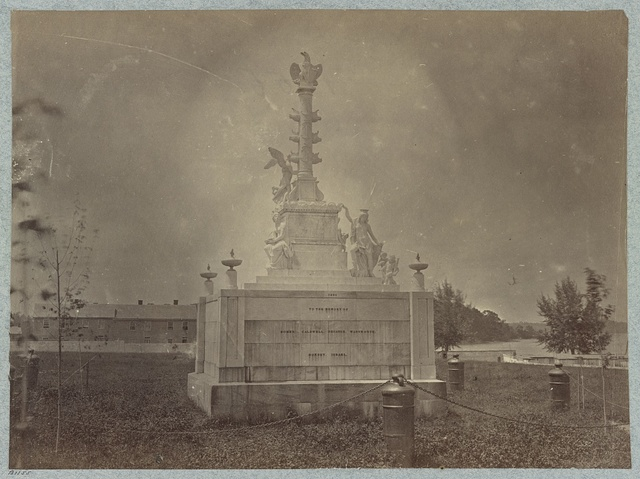 Naval monument at Naval Academy, Annapolis, Md.