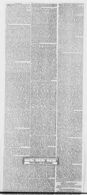 New York City Tribune, Thursday, November 14, 1861  (Clippings)