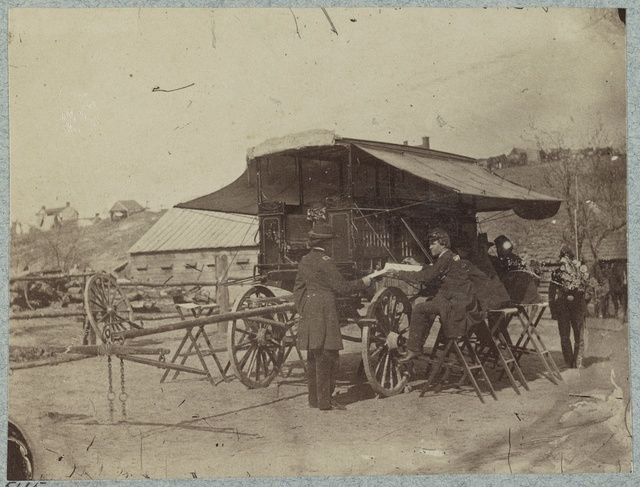 Office wagon of Headquarters Army of the Cumberland