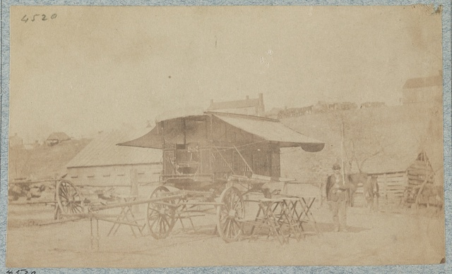 Office wagon of headquarters Department of the Cumberland