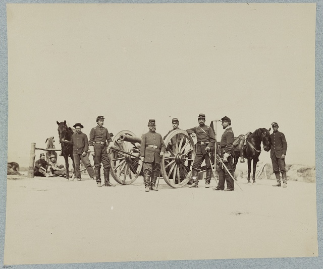 """Officers of the """"Keystone"""" Battery, of Pennsylvania"""
