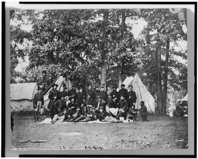 Officers of U.S. Horse Artillery, Army of the Potomac, Culpeper, Va. Sep. 1863