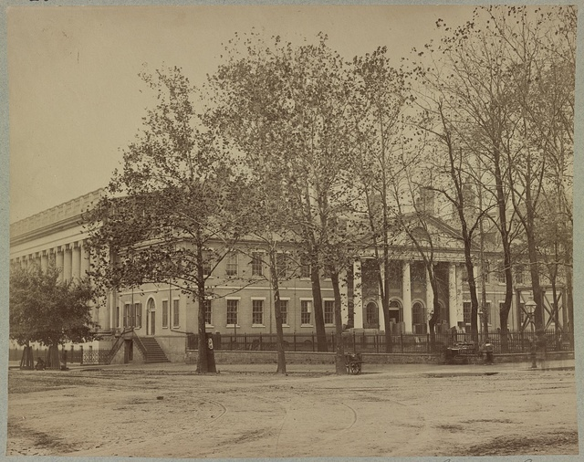 Old State Department Building, corner 15 Street and Pennsylvania Avenue