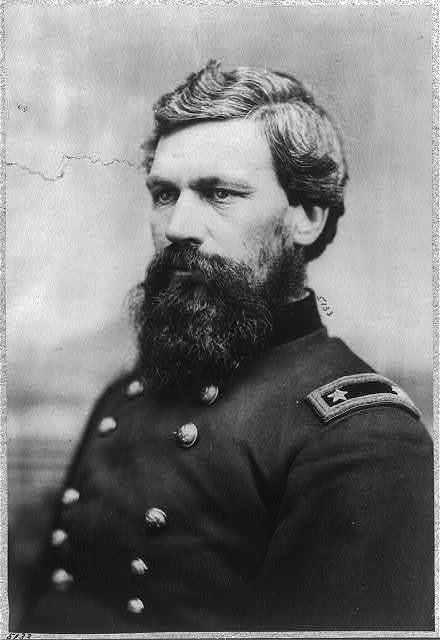[Oliver Otis Howard, 1830-1909, bust portrait, facing left; in uniform]