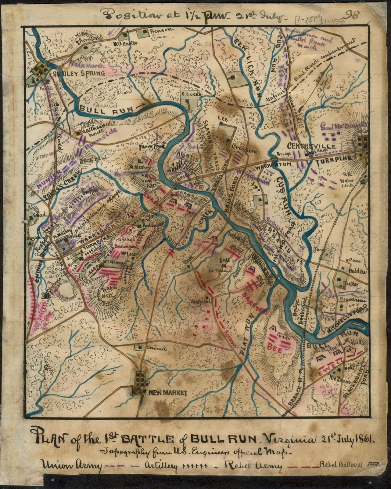 Image result for bull run va 1861
