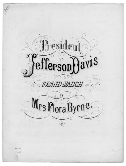 President Jefferson Davis grand march