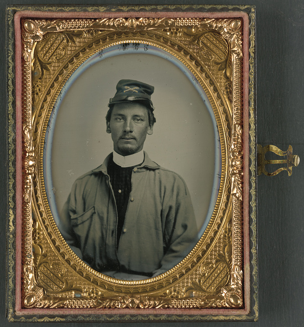 [Private Archibald Magill Smith of Co. F, 1st Virginia Cavalry Regiment, and Co. D, 6th Virginia Cavalry Regiment, in uniform]