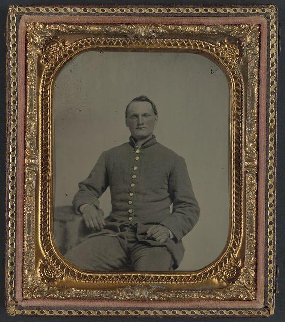 [Private Eli Franklin of Company B, 1st South Carolina Infantry Regiment]