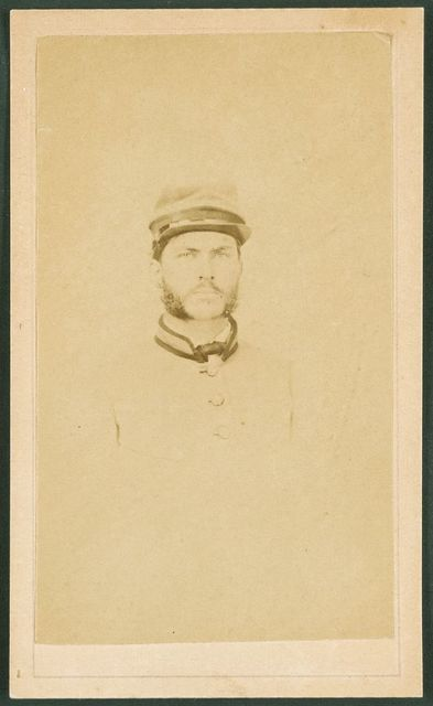 [Private R. Cecil Johnson of 8th Georgia Infantry Regiment and South Carolina Hampton Legion Cavalry Battalion in uniform] / F. Kuhn's Pioneer Gallery, 290 White Hall St., Atlanta.
