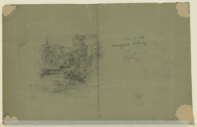 Reconnoisance [sic] of the Enemies position in front of Fairfax Ct. House Oct. 18th 1861