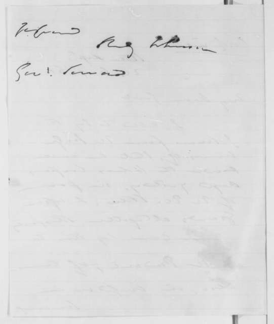 Reverdy Johnson to William H. Seward, Saturday, August 24, 1861  (Legal decision)