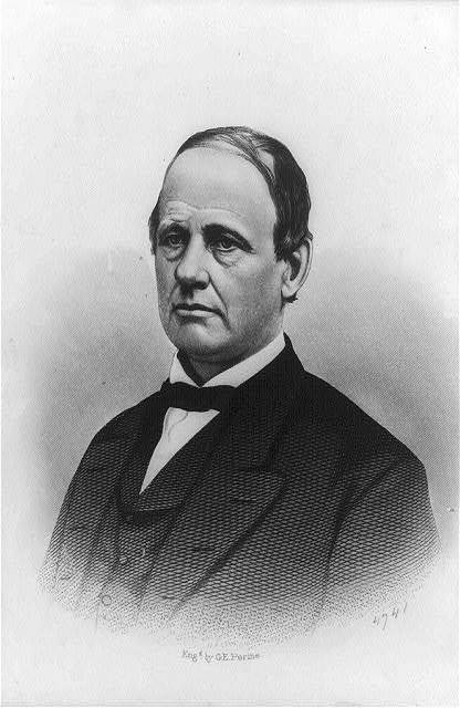 [R.P. Buckland, head-and-shoulders portrait, facing left]