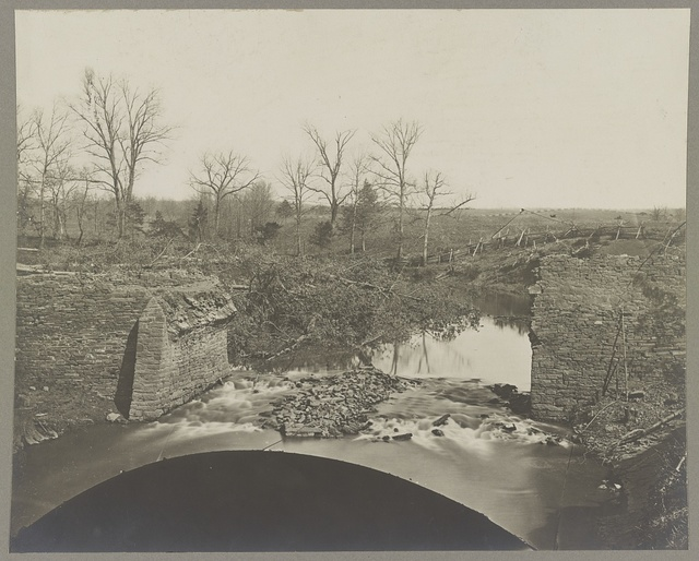 Ruins of stone bridge, Bull Run, Va.