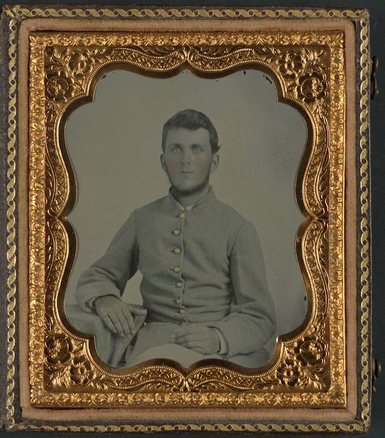 [Sergeant William T. Belew of Company H, 57th Virginia Infantry Regiment]