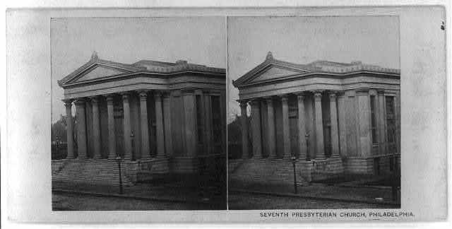 Seventh Presbyterian Church, Broad Street, North of Chestnut Street, Philadelphia, Pa.
