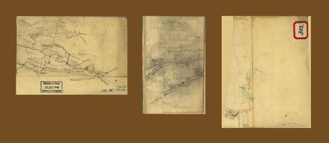 [Sketch of parts of Highland County, Va., and Pendleton County, W. Va.].