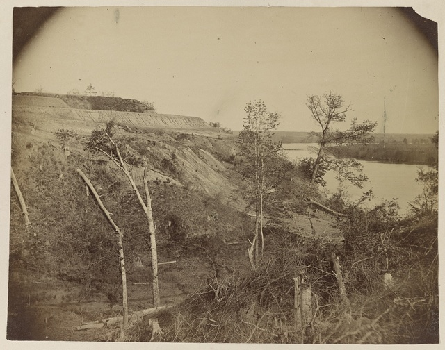 [Sloped hill near the river]