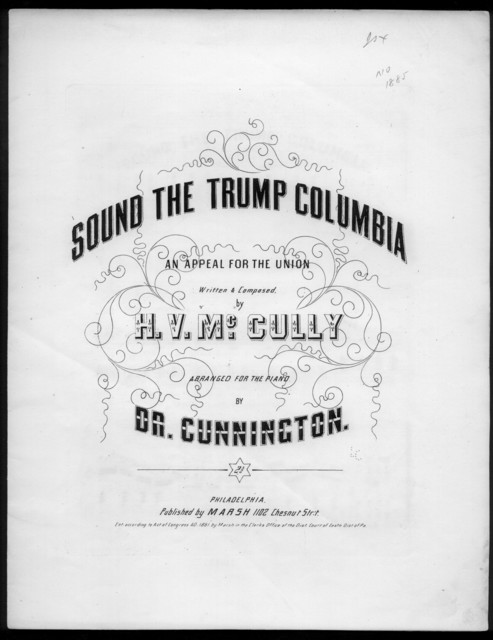 Sound the trump Columbia