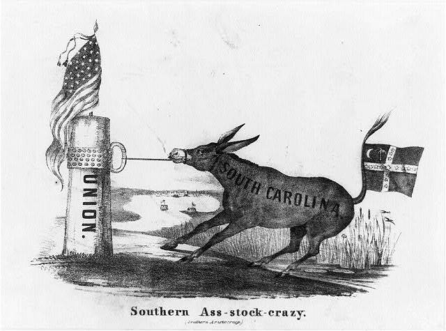 Southern ass-stock-crazy (Southern aristocracy)
