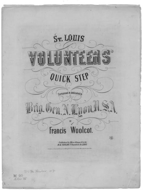 St. Louis volunteers' quick step