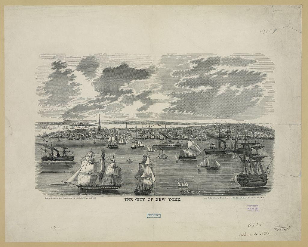 The city of New York / Horton, N.Y.