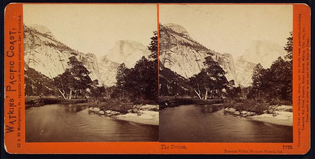The Domes, Yosemite Valley, Mariposa County, Cal.