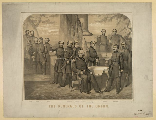 The generals of the Union