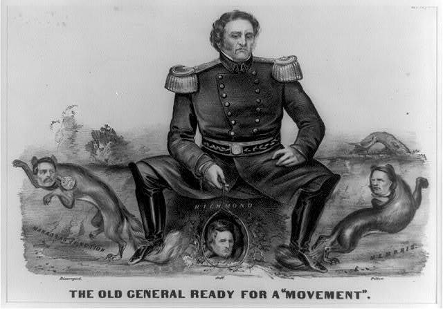 """The old general ready for a """"movement"""""""
