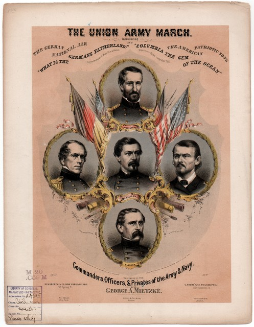 The  Union army march