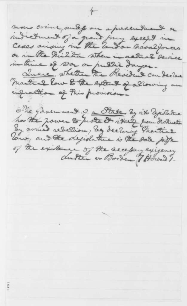 Titian J Coffey Friday April 19 1861 Notes On Martial Law With Endorsement From Edward Bates April 20 1861 Picryl Public Domain Image