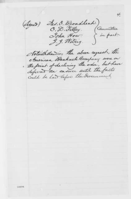 Tracy R. Edson to W. S. Wood, Thursday, June 06, 1861  (Printing of Missouri defense bonds)