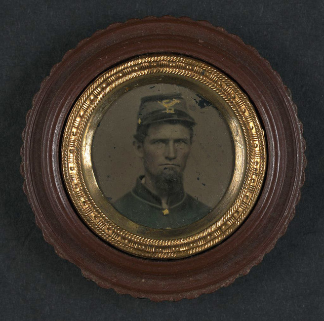 [Unidentified soldier in Union uniform and infantry forage cap]