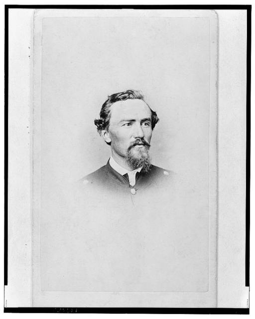 [Unidentified Union officer, bust portrait, facing front] / E. & J. Bruening's Photograph Gallery, Indianapolis, Ind.