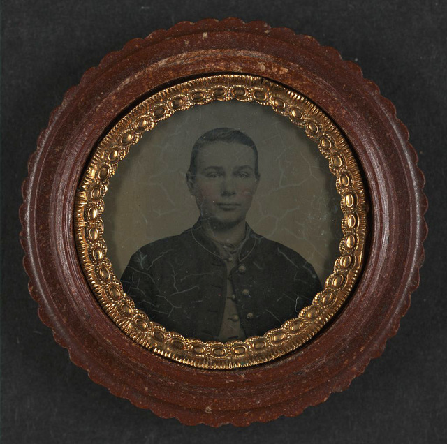 [Unidentified young soldier in Union uniform]
