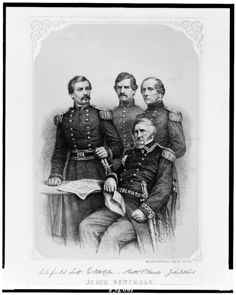 Union generals / Mayer & Stetfield's lith. 97 State St.